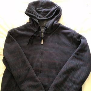 O'Neill Zip Up Men's Hoodie Full Lined with Sherpa